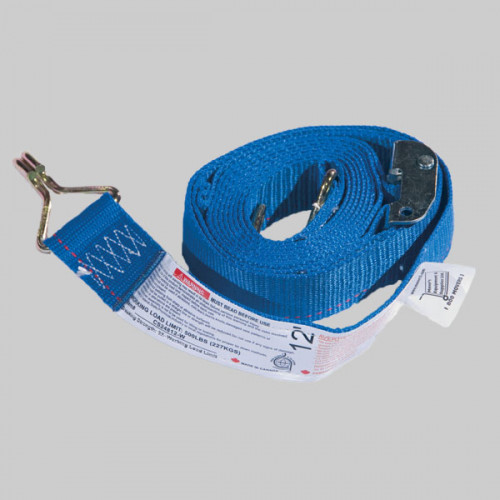 12' Logistic Strap w/ Hook