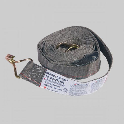 16' Logistic Strap w/ Hook