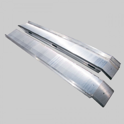 14' Aluminum Twin-Lock Auto Ramp
